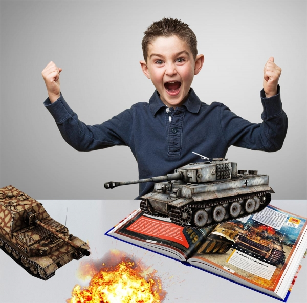 Encyclopedia of Tanks with Augmented Reality